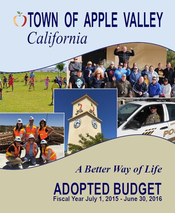 FY 15-16 Adopted Budget Cover Photo