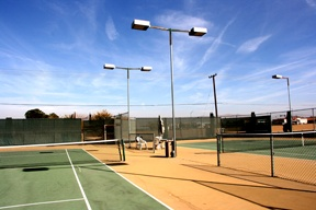 AVCC tennis courts
