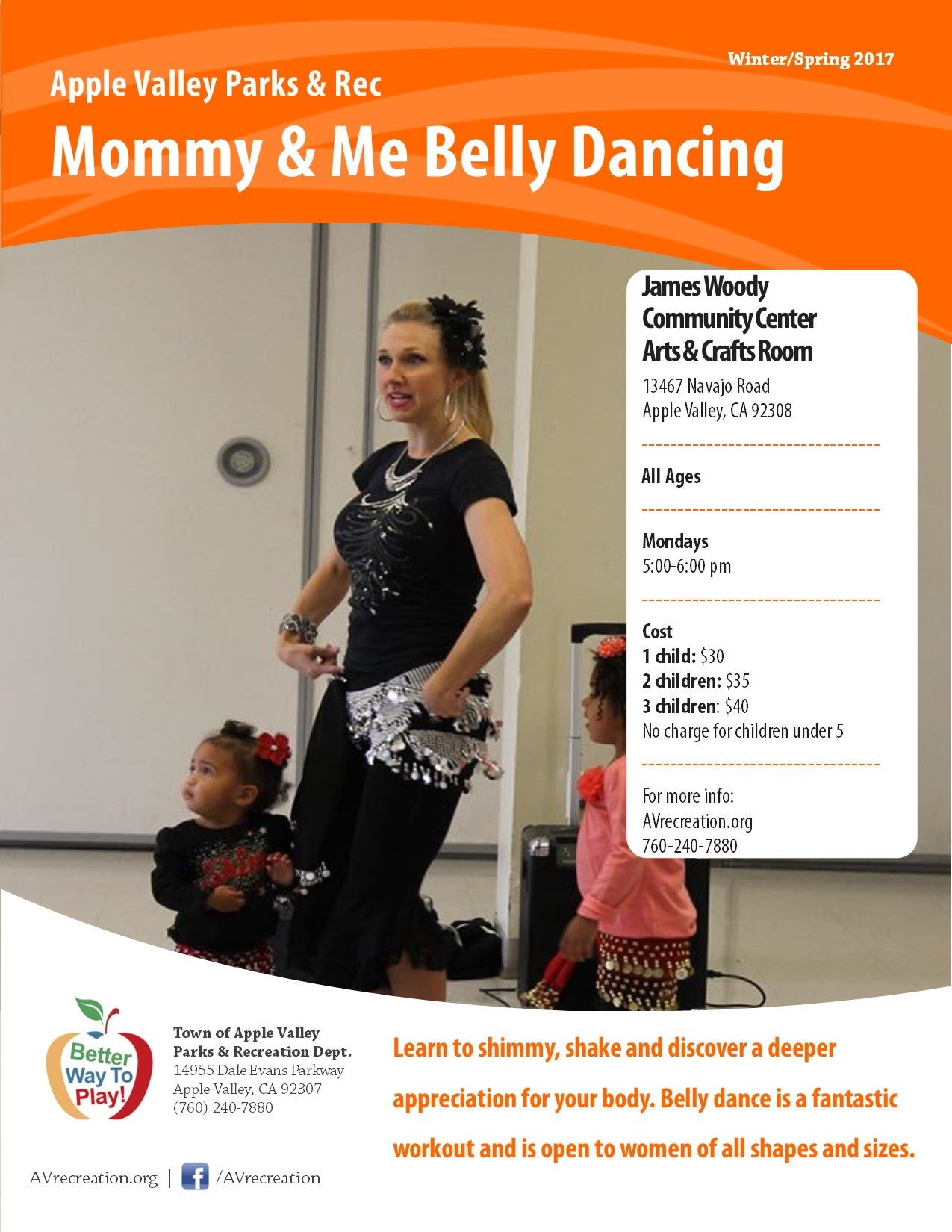 Mommy & Me Belly Dancing