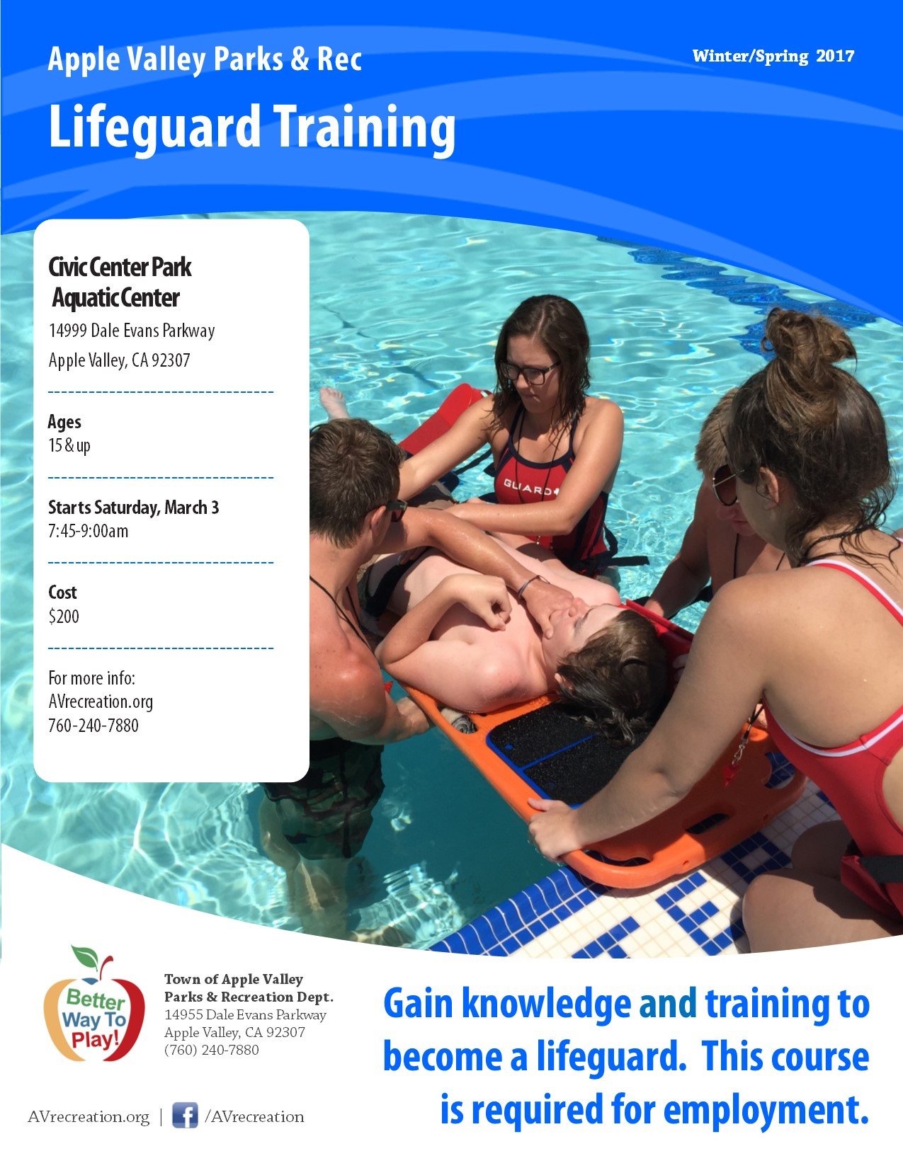 Lifeguard Training 17
