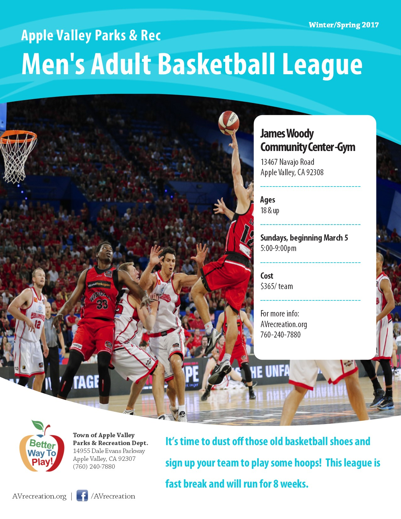 Mens Basketball League