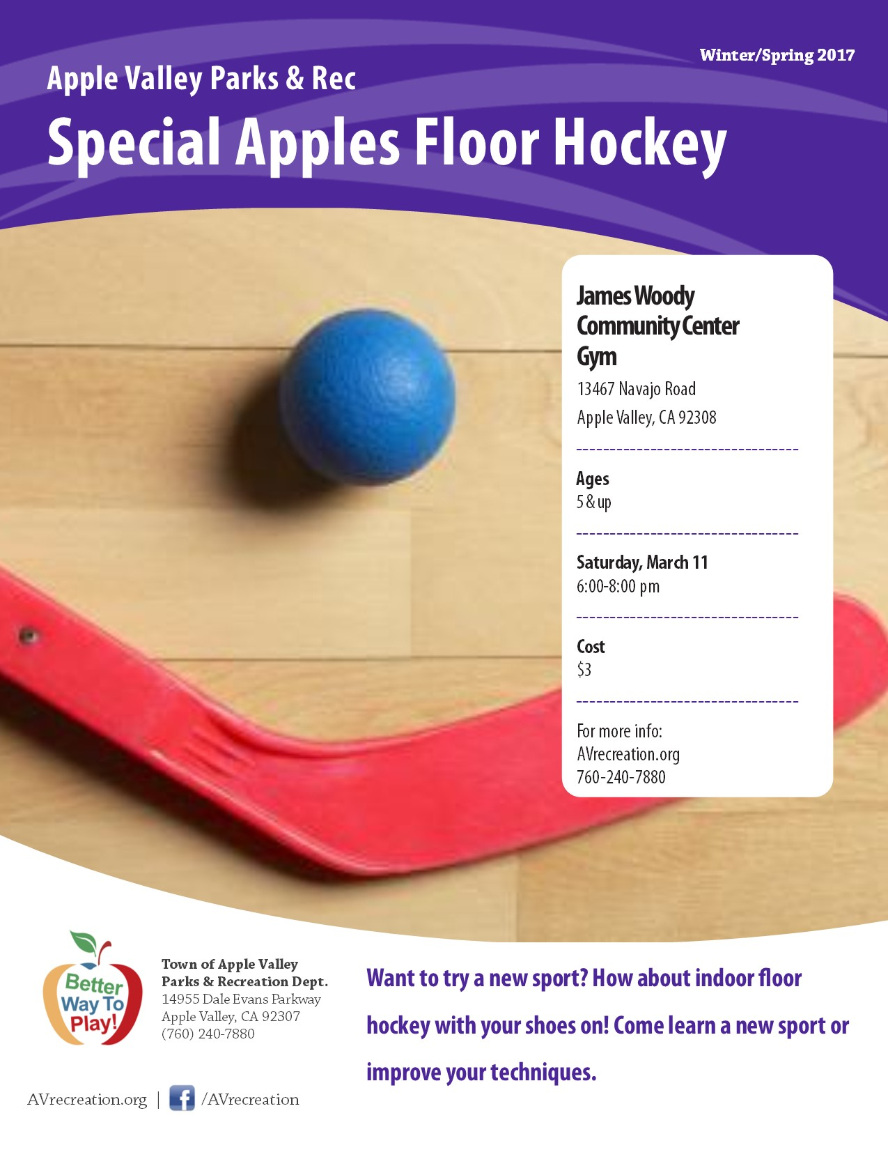 Special Apples Floor Hockey