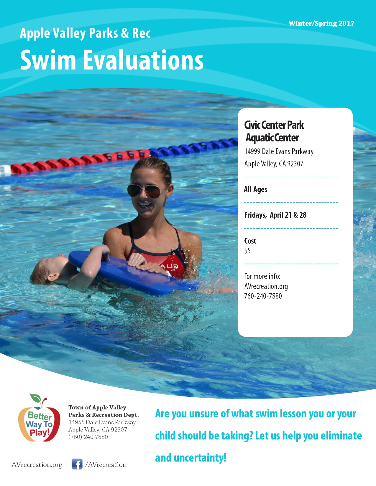 Swim Evaluations