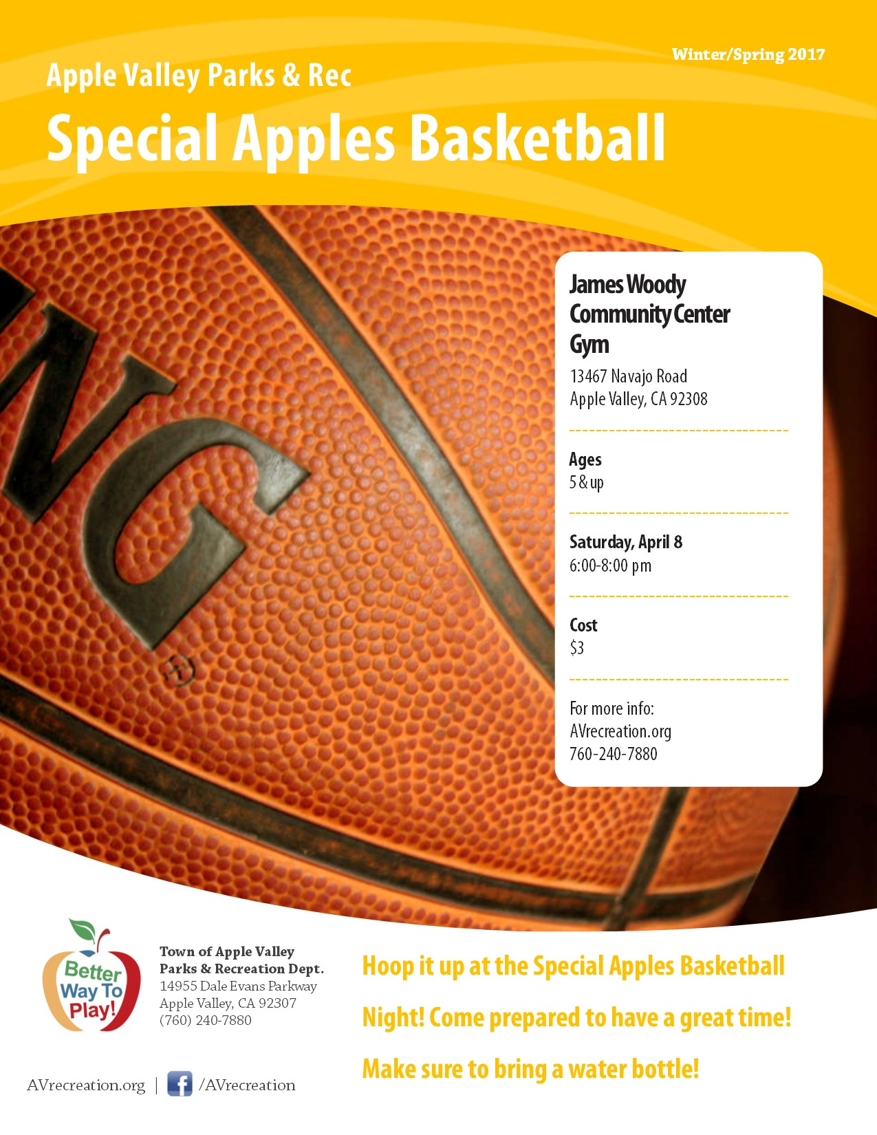 Special Apples Basketball