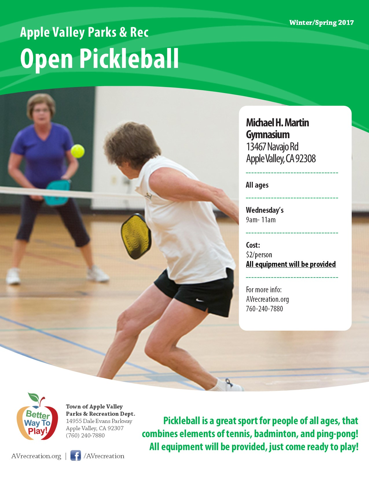 Open Pickleball