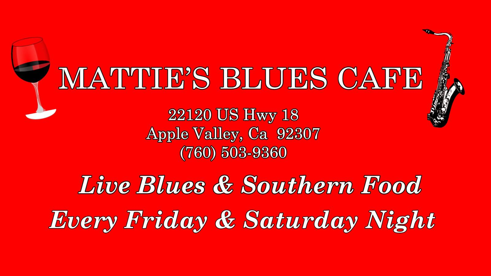 Mattie's Blues Cafe
