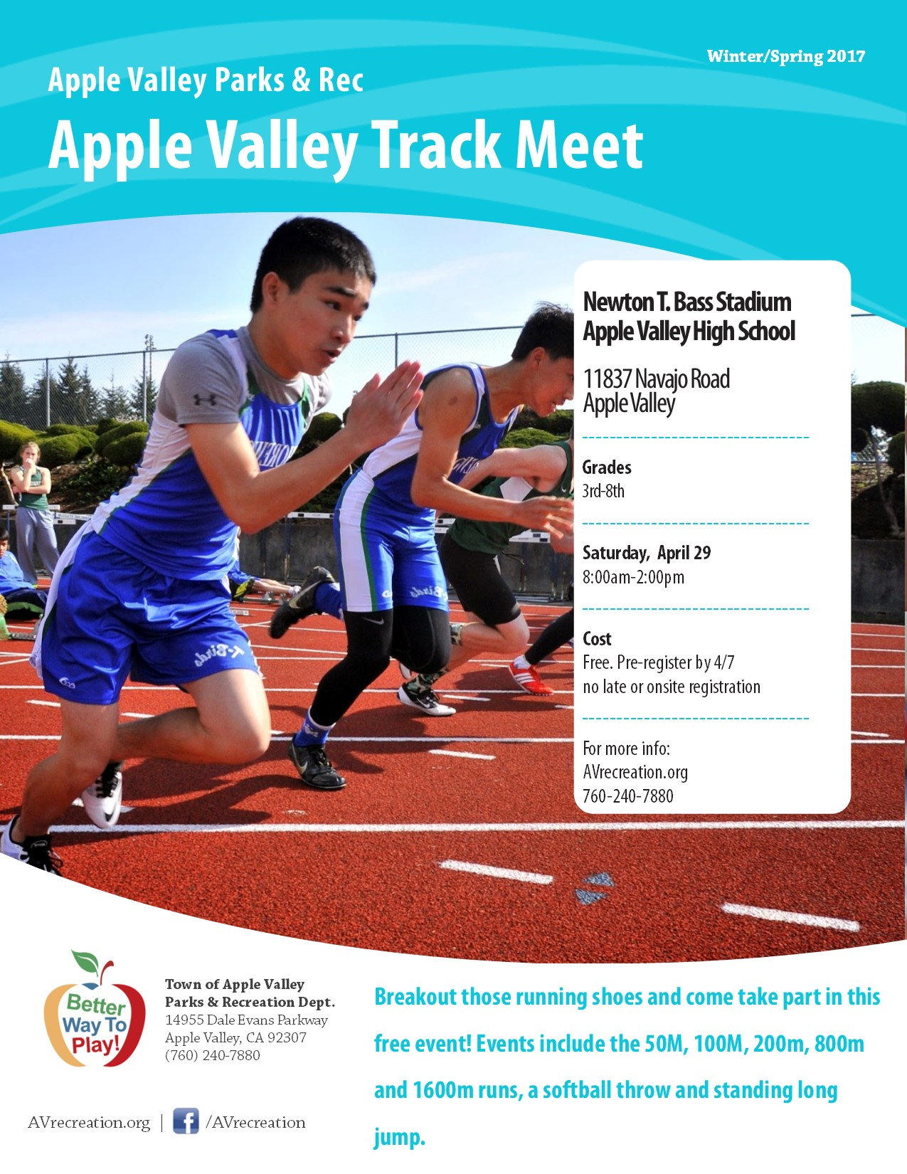 Apple Valley Track Meet