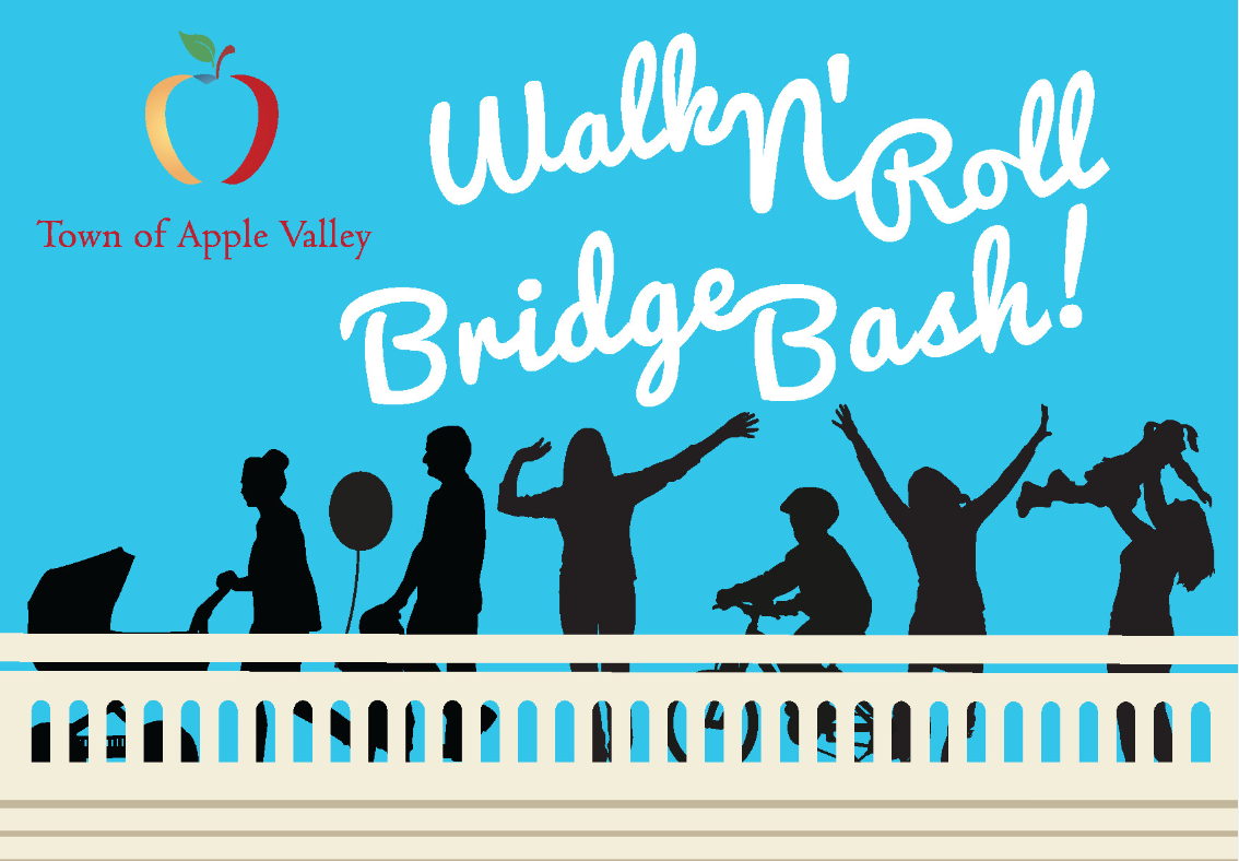 "Apple Valley to open bridge with a little ""Walk and Roll"""