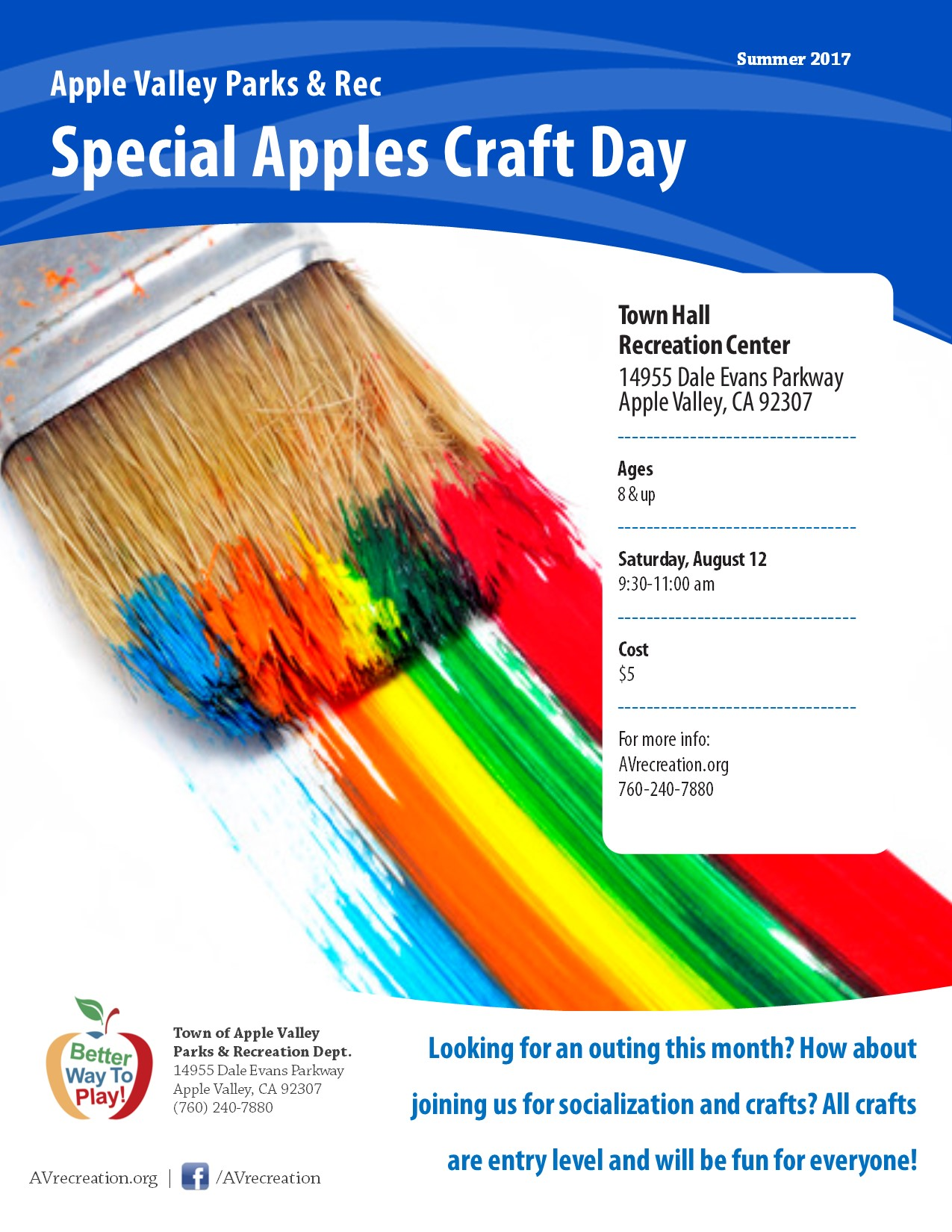 Special Apples Craft Day
