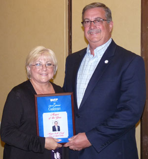 Nassif named WeTip Mayor of the Year