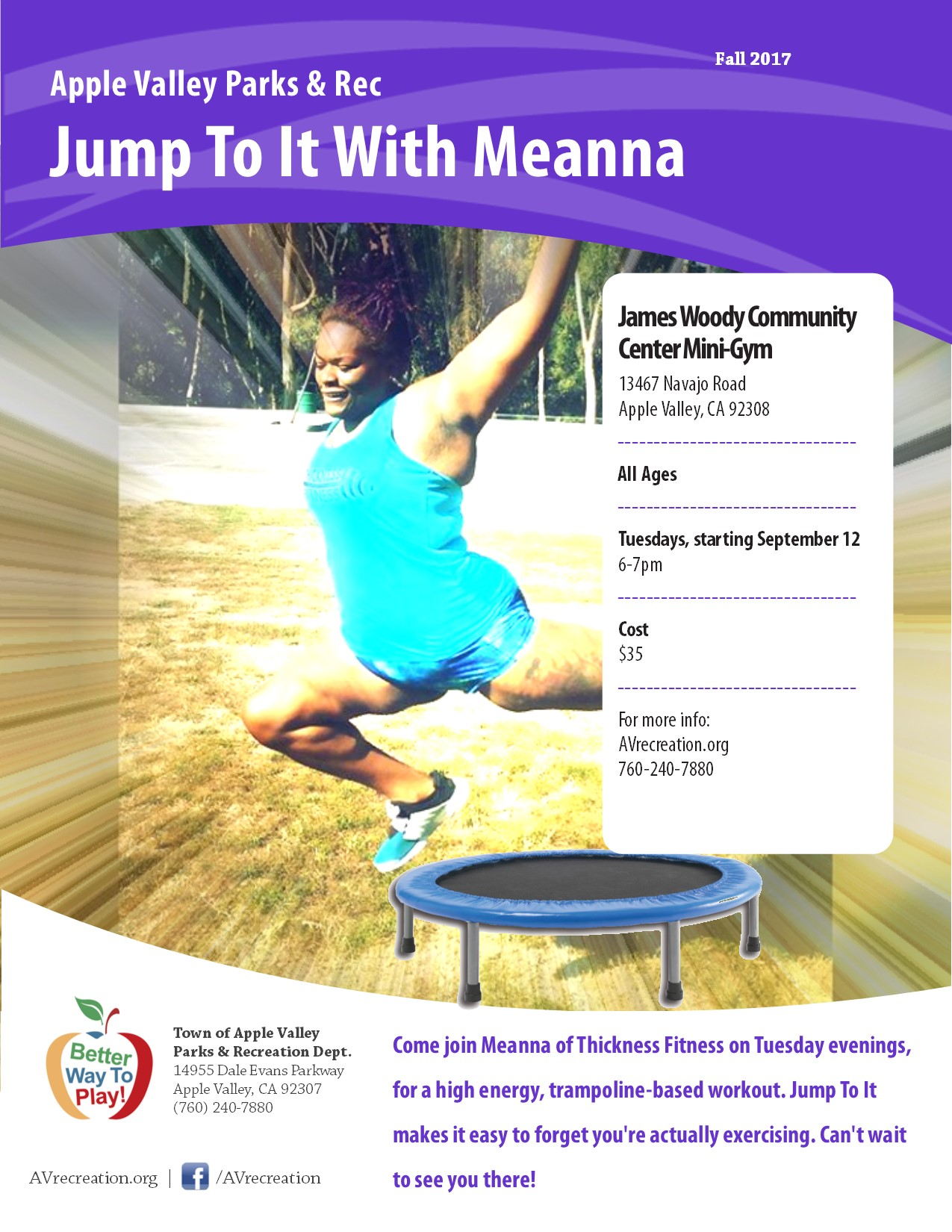 Jump to it with Meanna