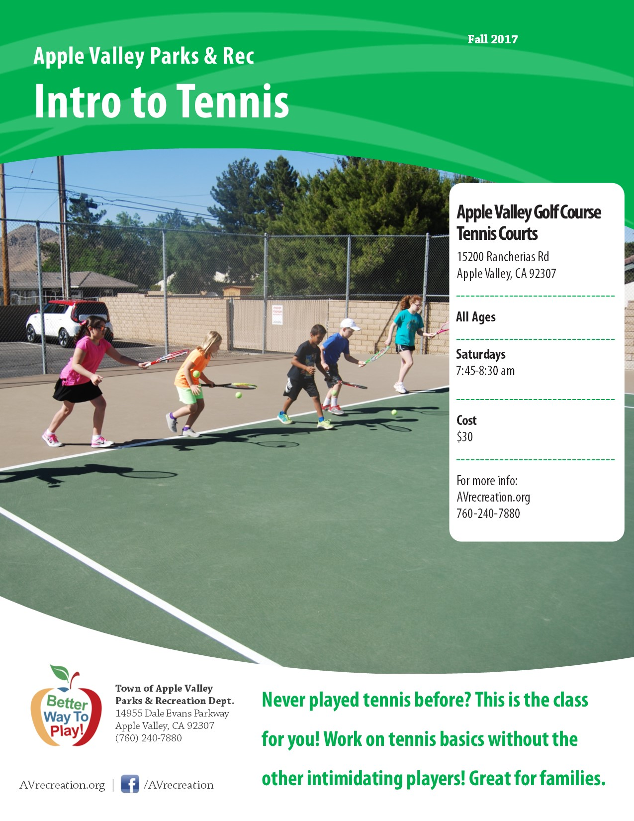 Intro to Tennis