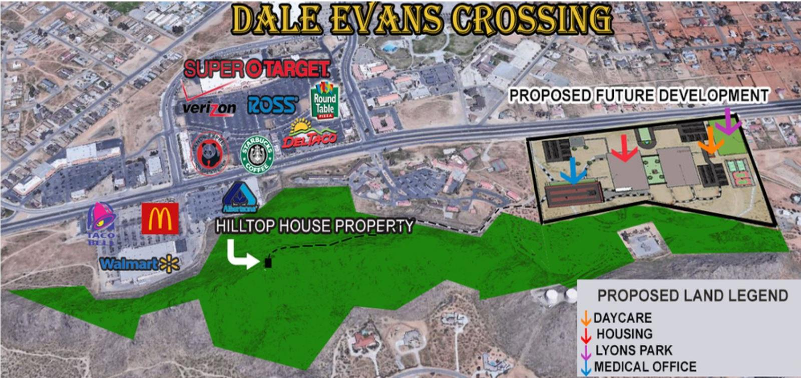 Dale Evans Crossing_Map