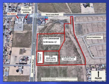 4 Parcels - Apple Valley Road