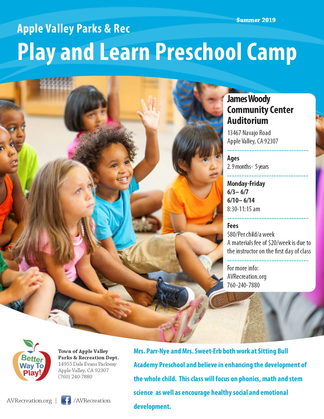 Play and Learn Preschool