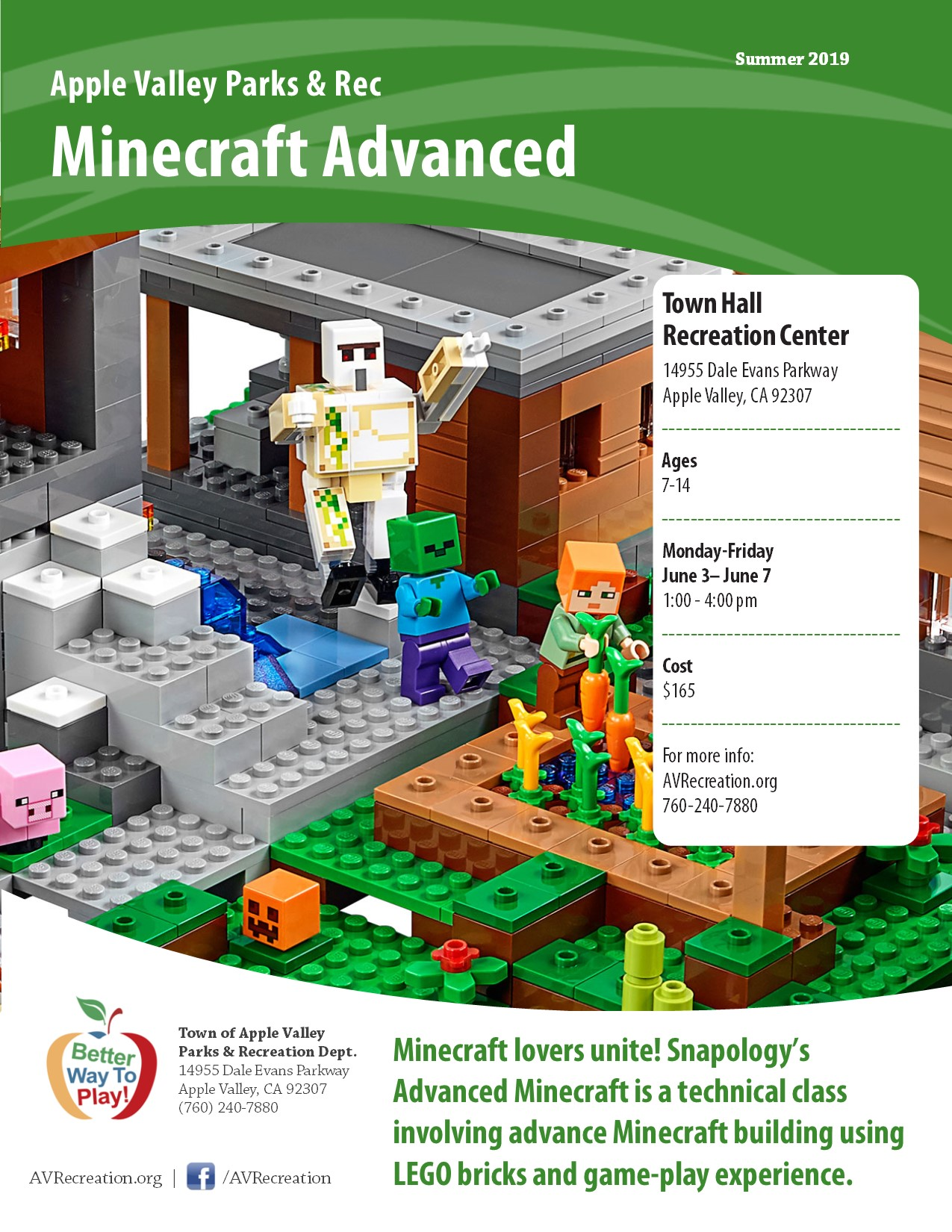 Minecraft Advanced