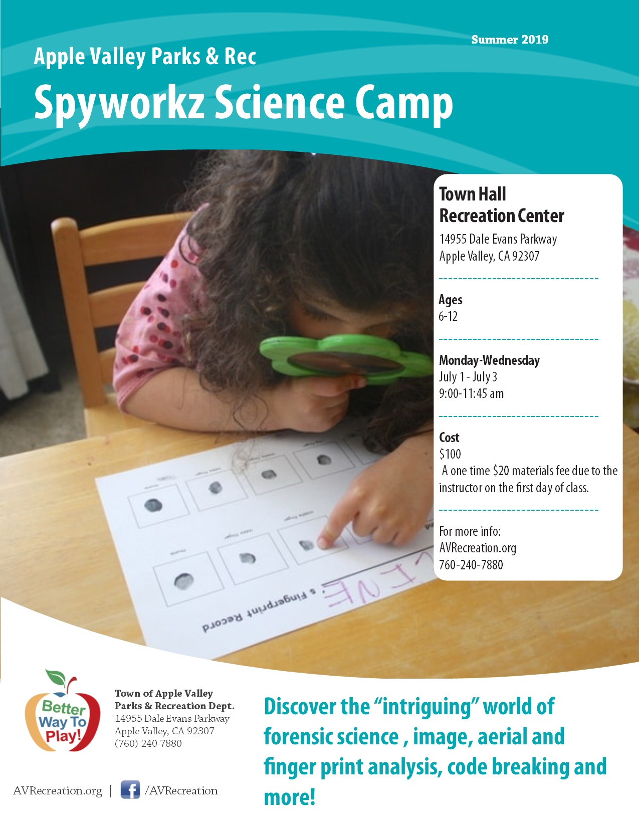 Spyworkz Science Camp