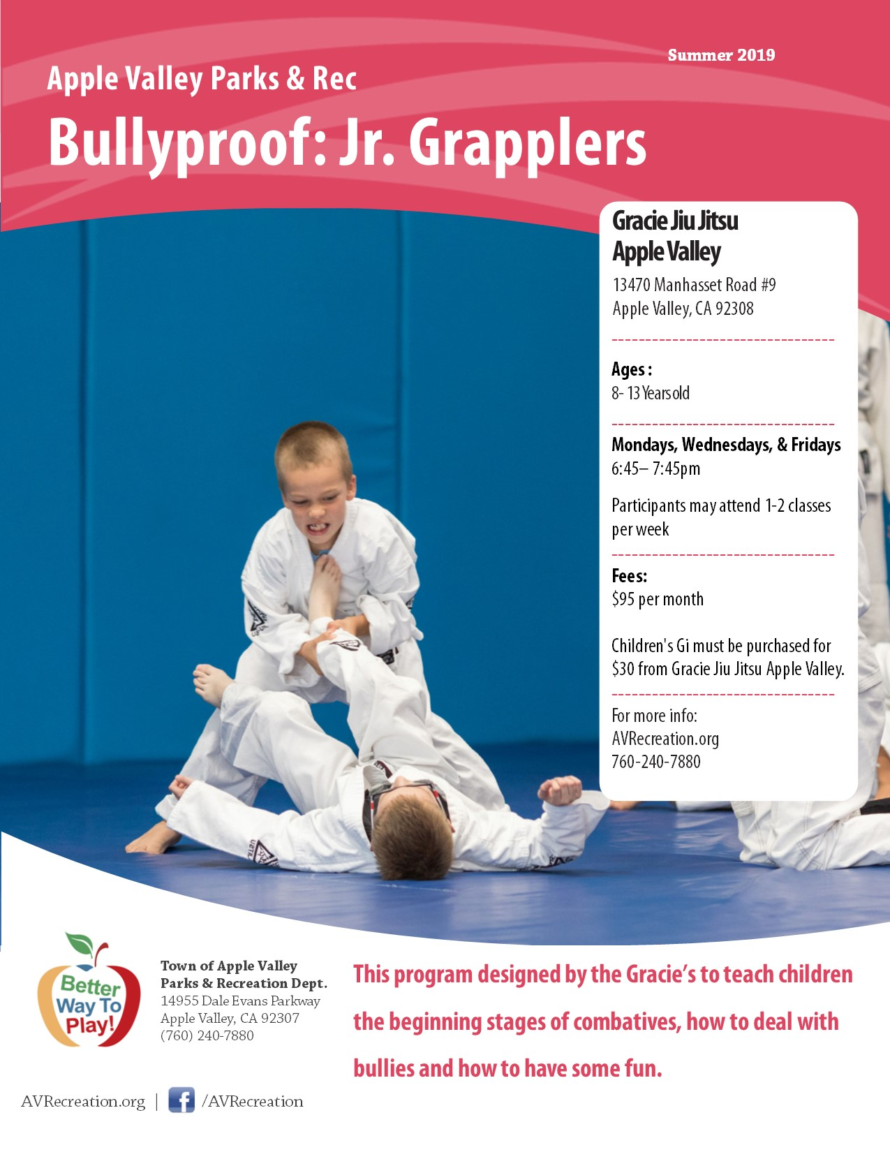 Gracie Bullyproof Jr. Grapplers