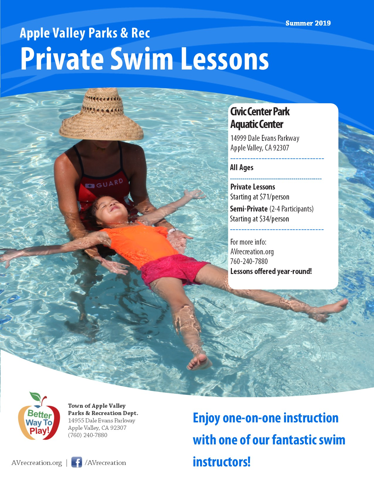 Private Swim Lessons