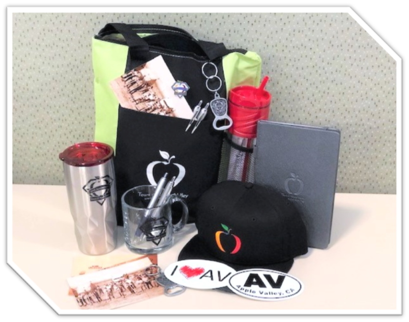 Purchase cool Apple Valley swag of your very own!