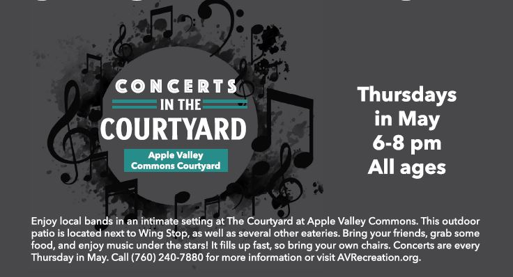 Apple Valley Concerts in the Courtyard @ Apple Valley Commons Courtyard