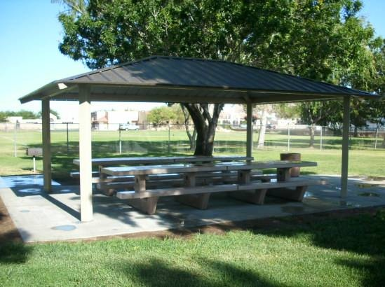 Thunderbird shade structure