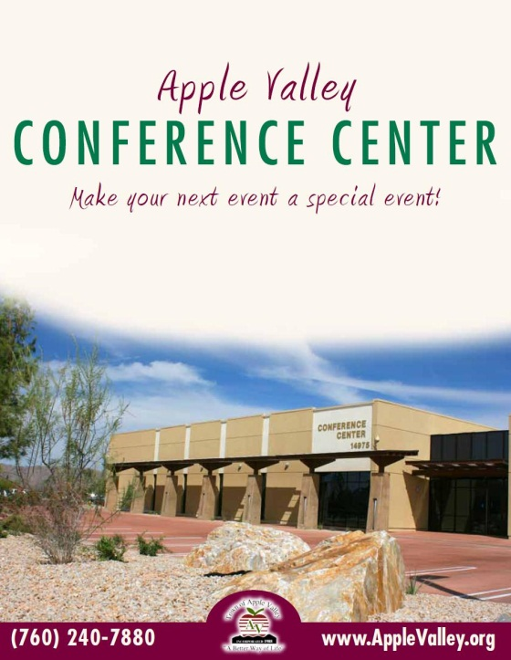 Conference Center Booklet