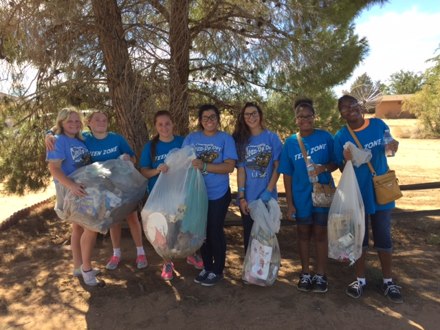 Teen Zone Cleans Up