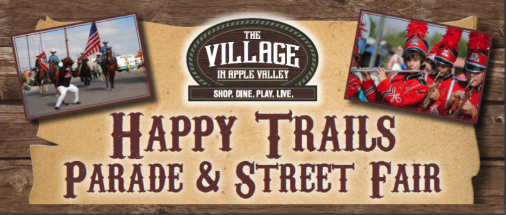 Happy Trails Parade & Street Fair_Header