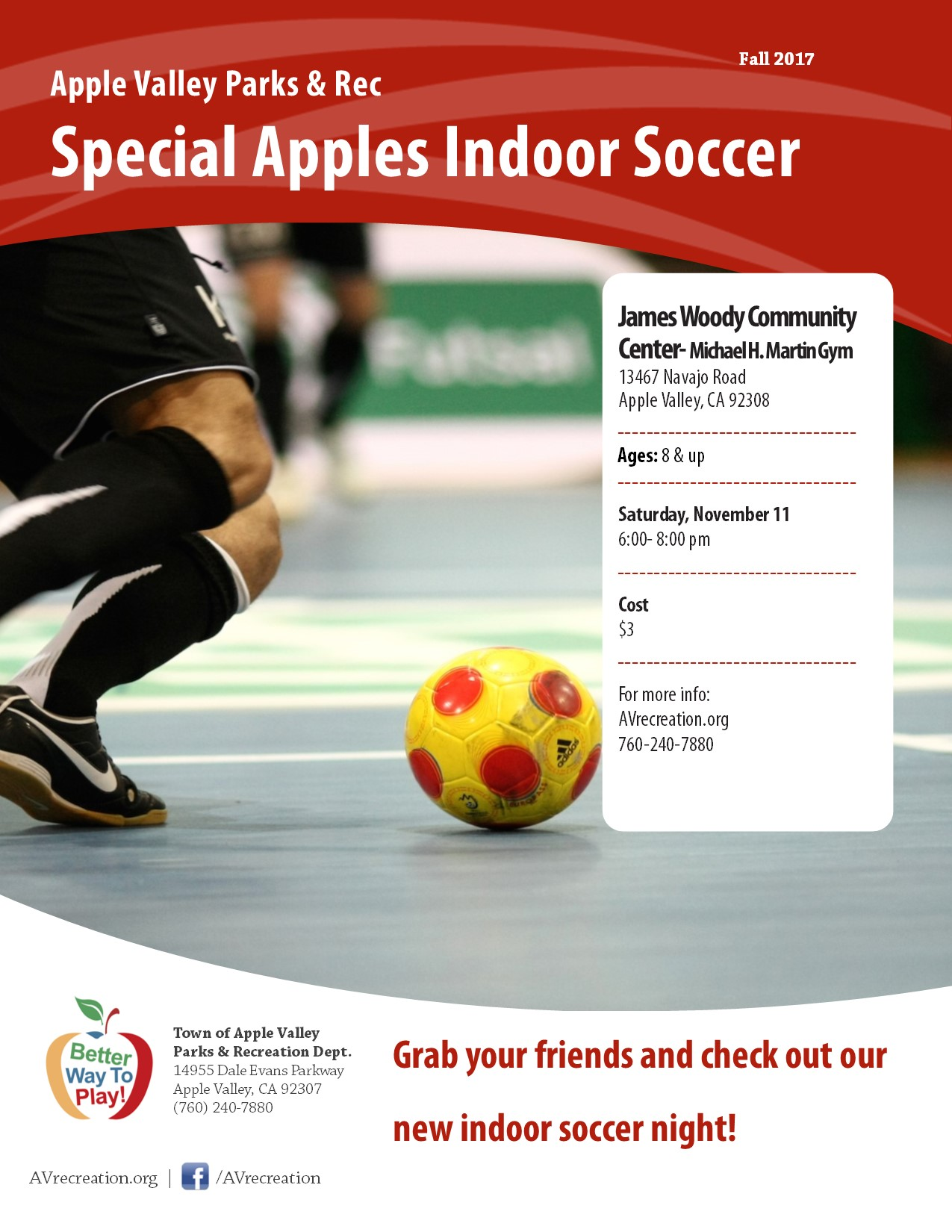 Special Apples Indoor Soccer