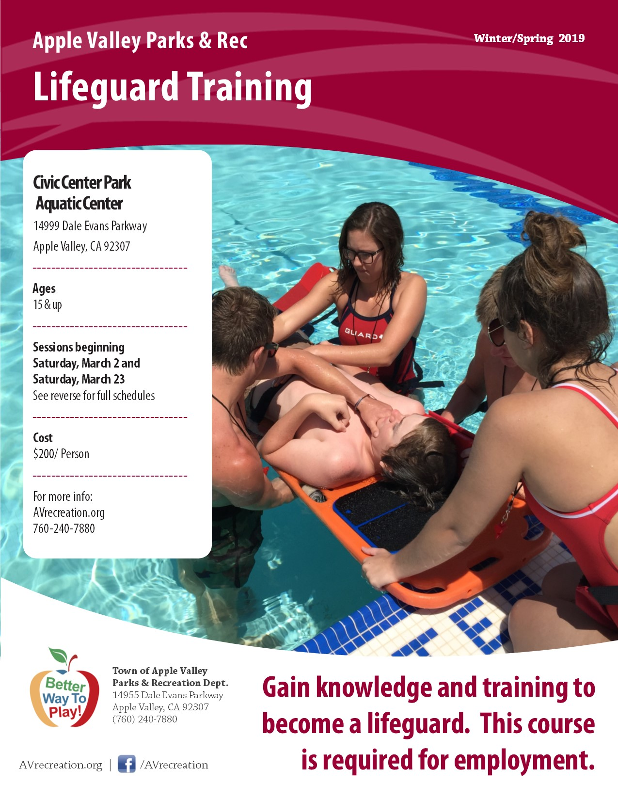 Lifeguard Training 19