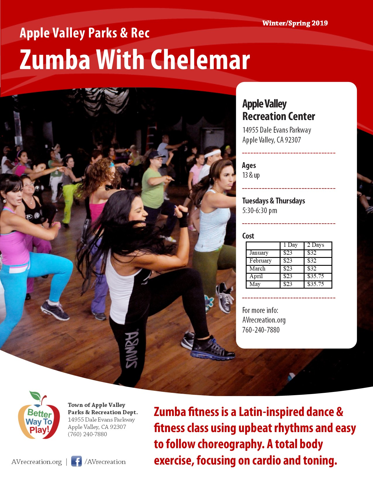 Zumba with Chelemar