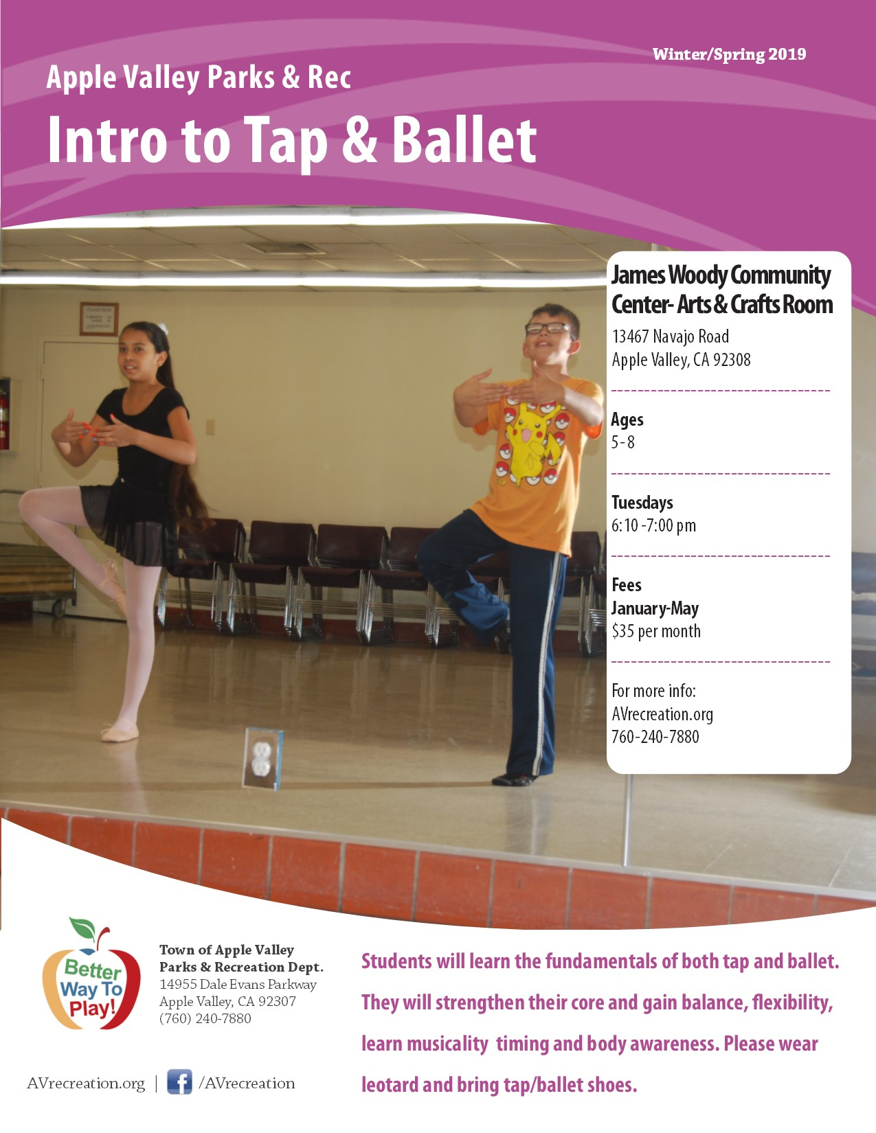 Intro to Tap & Ballet