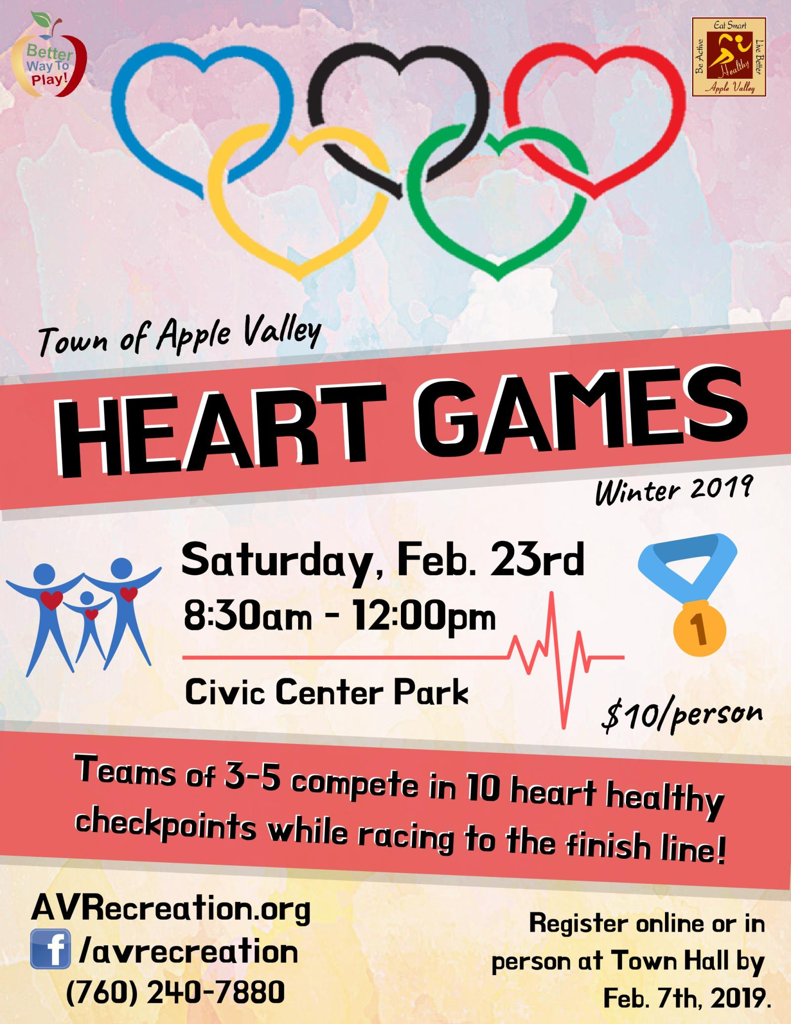 Heart Games Flyer